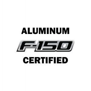 Aluminum F-150 Certified
